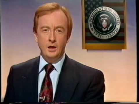 BBC Breakfast News - US Presidential Election 1992