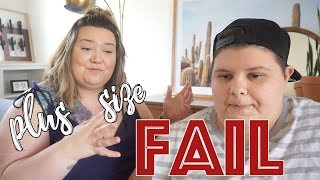 Plus Size Clothing Haul Disappointment?!?!