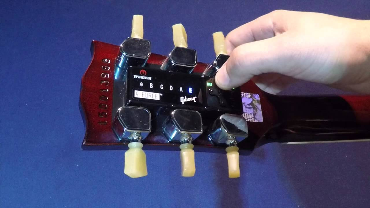 How To Restring A 2015 Gibson Les Paul With The G Force Tuning Eb 1 Bass Guitar Wiring Drawings Switching System Youtube