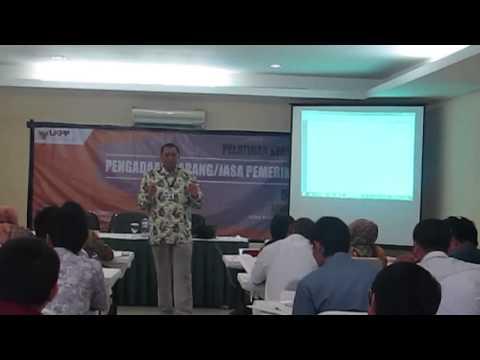 Pak Raden Ari Widianto - Review Materi : Pelaksanaan, Swakelola, PHLN dan E-Procurement