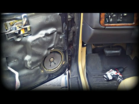 JEEP SPEAKER REPLACEMENT