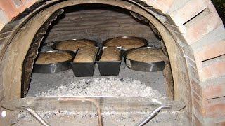 Μέρος 1ο-Παραδοσιακός ξυλόφουρνος με παλιά κεραμίδια/Construction with wood oven old roof tiles
