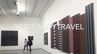 SEAN SCULLY Facing East EXHIBITION at the MAMM Moscow VIDEO of Sean Scully's ART ШОН СКАЛЛИ