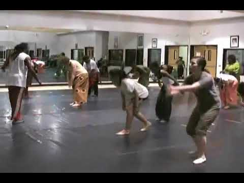 african dance lesson