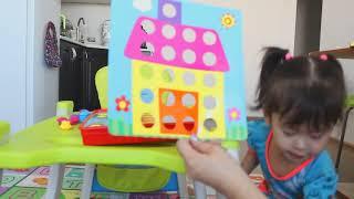 Обзор Мозаика для малышей кнопки-пуговицы