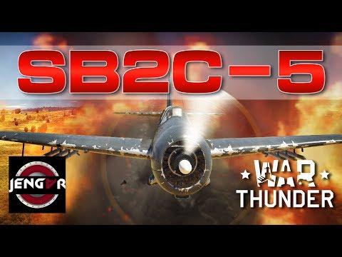 War Thunder Realistic: SB2C-5 Helldiver [Fighter Killer!]