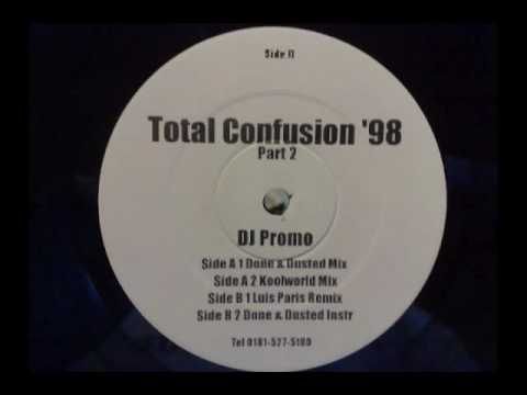 a homeboy a hippy & a funky dredd total confusion 98 - done & dusted mix