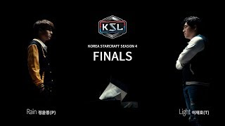 Rain vs Light PvT - Finals - KSL Season 4 - StarCraft: Remastered