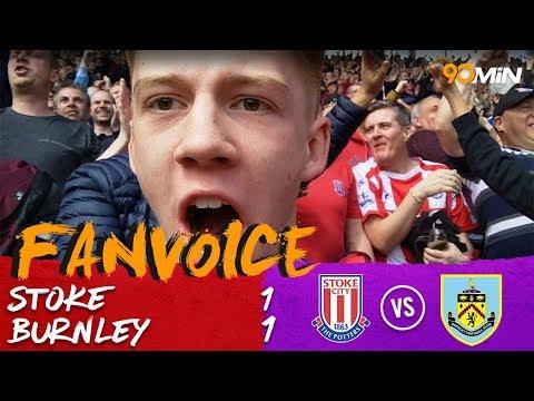 Stoke 1-1 Burnley   Ndiaye and Barnes score in 1-1 draw!   90min FanVoice