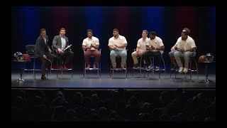 Giants Owner, Coaches, Rookie Players & Veterans Host  Giants Fourth Annual Town Hall Event