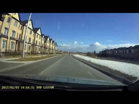 Driving in Ontario: Markham to Ajax via Toronto and Pickering