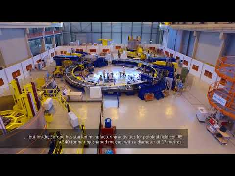 ITER by drone (August 2017)