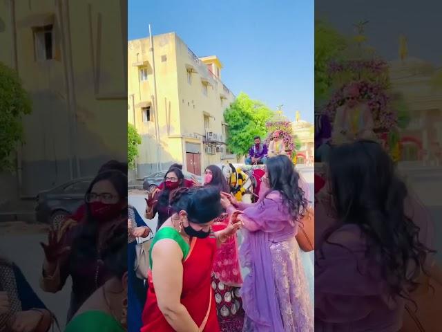 Wedding Procession in Lockdown | Barati Dance #shorts