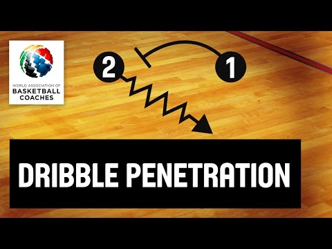 Basketball Coach Guy Molloy - The Dribble Penetration Game