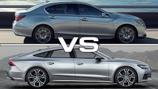 2019 Acura RLX vs 2018 Audi A7