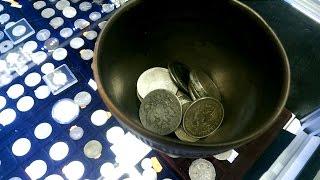 металлоискатель MINELAB X-TERRA 705. Тесты на серебряные монеты.