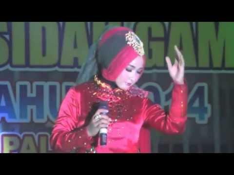 LASQI - JUARA 4 REMAJA PUTRI FESTIVAL BINTANG VOKALIS QASIDAH GAMBUS NASIONAL XIX 2014 PALU SULTENG