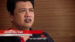 Why Toshiba - Customer Testimonials [720p Video]  (東芝カスタマー·ビデオ )