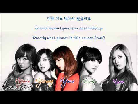 Dazzling Red - This Person (이사람) [Hangul/Romanization/English] Color & Picture Coded HD