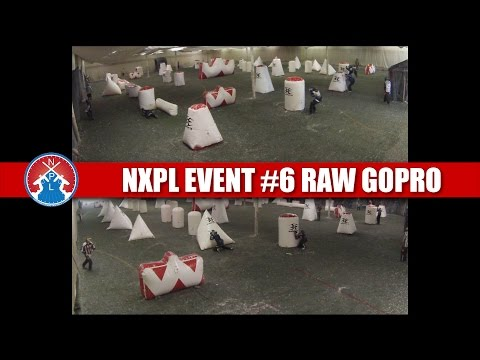 Raw GoPro Footage of NXPL Event #6 @ CRU Paintball Flint Michigan