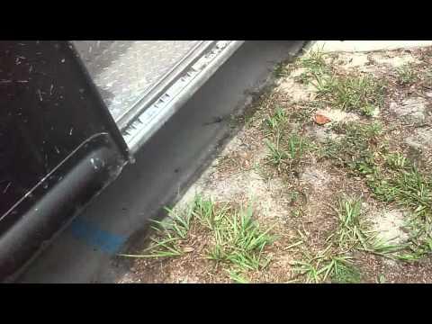 A look inside a ups truck
