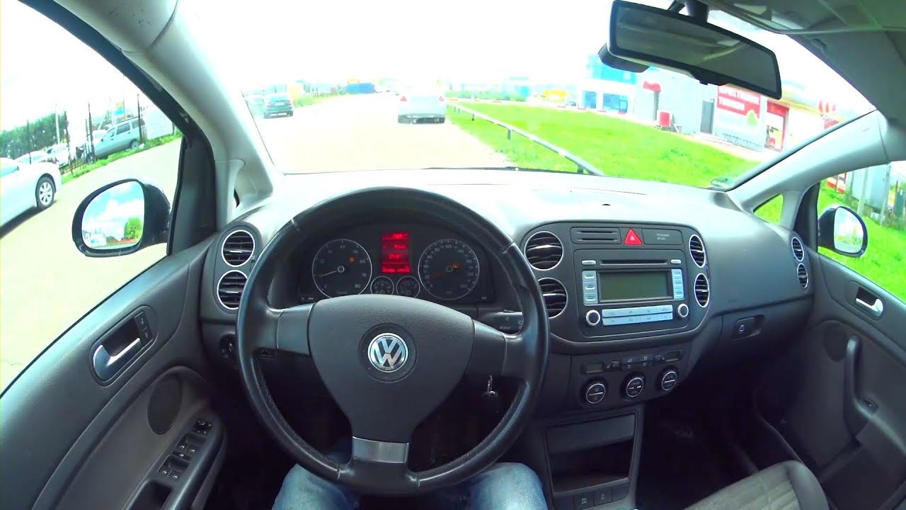 2007 volkswagen golf plus pov test drive youtube. Black Bedroom Furniture Sets. Home Design Ideas