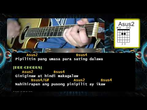 Kung 'Di  Rin Lang Ikaw by December Avenue feat. Moira Dela Torre | Guitar Chords | Tutorial