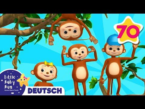 Fünf kleine Äffchen | Und noch viele weitere Kinderlieder | von LittleBabyBum
