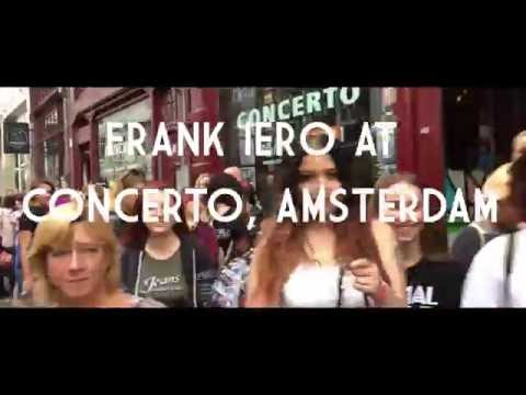 Frank Iero Instore At Concerto Amsterdam September 10th.