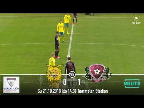 FCLahtiTV: Karjala ottelukooste: Ilves - FC Lahti 0-1 (0-0) 21.10.2018