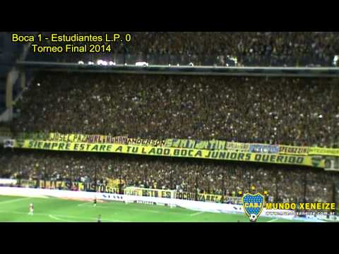 Boca 1 - Estudiantes LP 0 /Torneo Final 2014