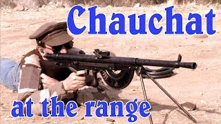 Chauchat Field Testing vs Mock MG08/15 Nest