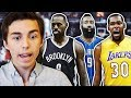 WHAT IF THE NBA RESTARTED AND HAD A FANTASY DRAFT? NBA 2K17 MY LEAGUE