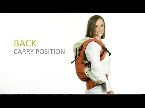 lillebaby COMPLETE Baby Carrier - Back Carry Instructions