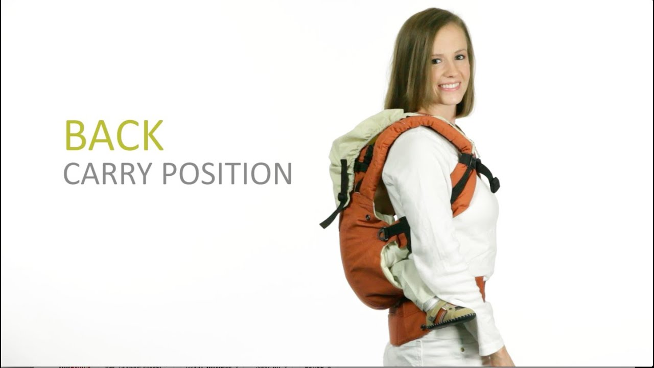 Lillebaby Complete Baby Carrier Back Carry Instructions