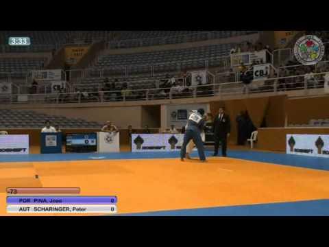 Judo :: João Pina medalha de prata no Grande Prémio do Rio de Janeiro em 2011