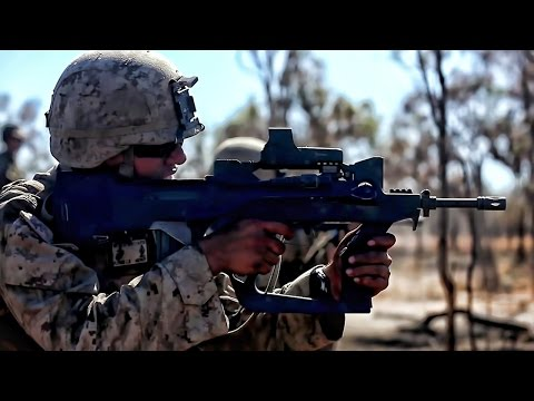 US Marines & French Soldiers Swap Weapons • Live Fire Range