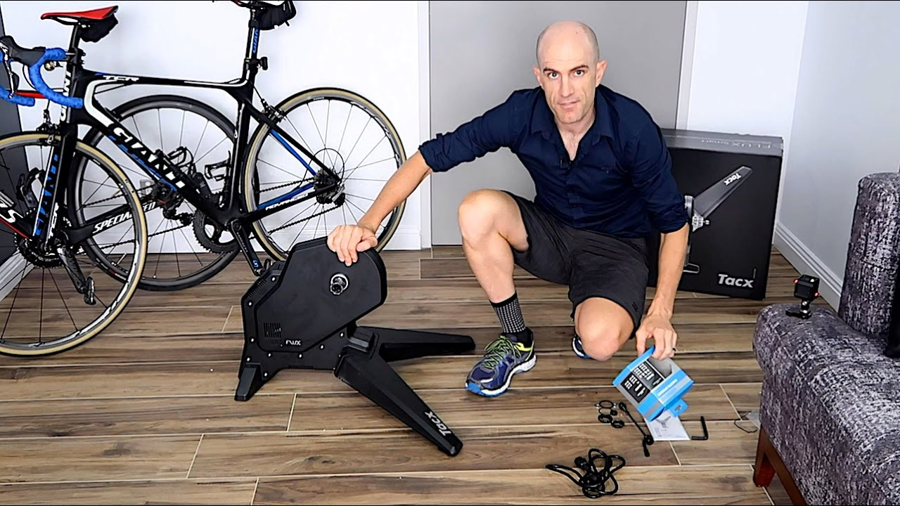 b6000c0719e TACX FLUX Smart Trainer  Unboxing. Building. First Ride - YouTube