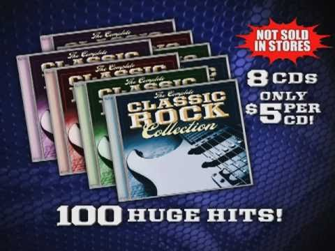 The Complete Classic Rock Collection - As Seen On TV & MusicSpace.com