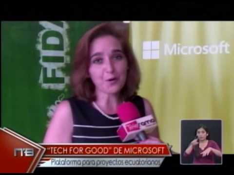 Tech For Good de Microsoft plataforma para proyectos ecuatorianos