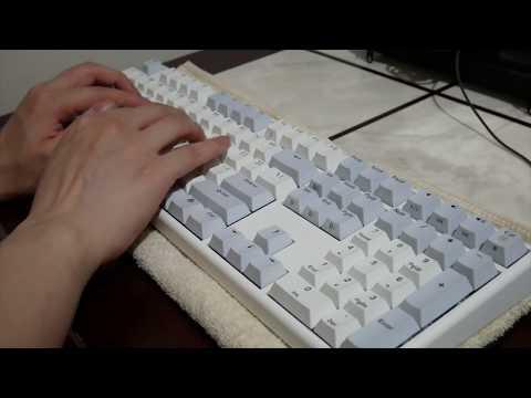 【ASMR】 한성 무접점 키보드 GK898B 타건영상 Hansung GK898B Capacitance switch Keyboard Typing Sound