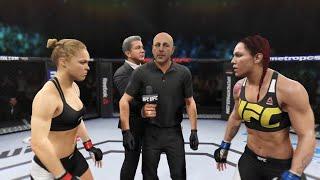 Ronda Rousey vs. Cris Cyborg - EA S...