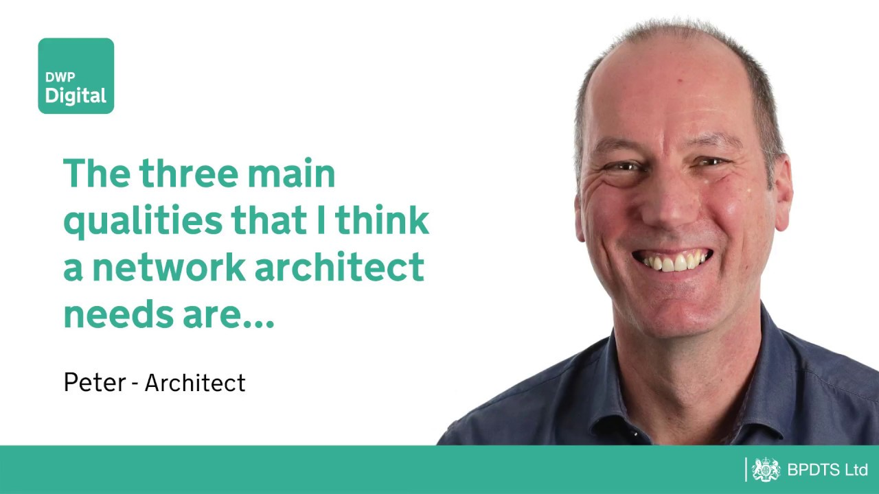 Architect Peter - The three main qualities that I think a network ...
