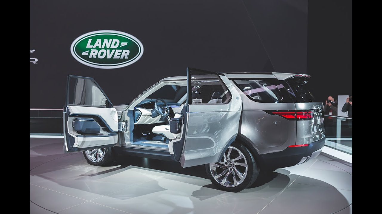 The All New Land Rover Discovery 2015 2016 Review