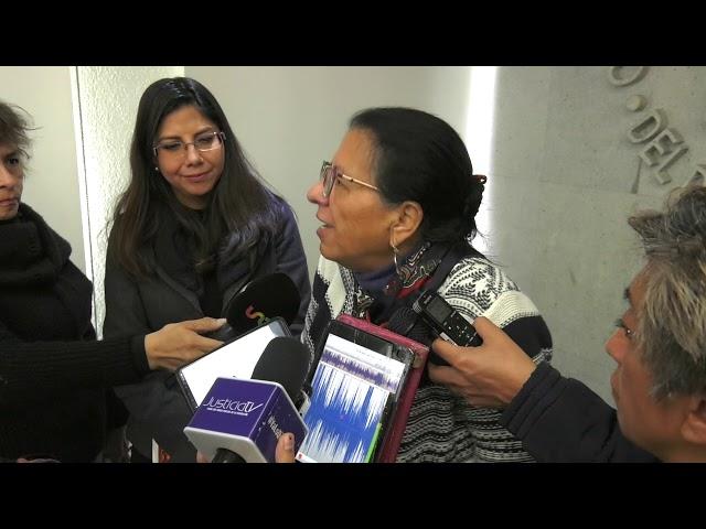 Entrevista Firma de Convenio de Colaboración con la INDDHH del Pueblo de Uruguay
