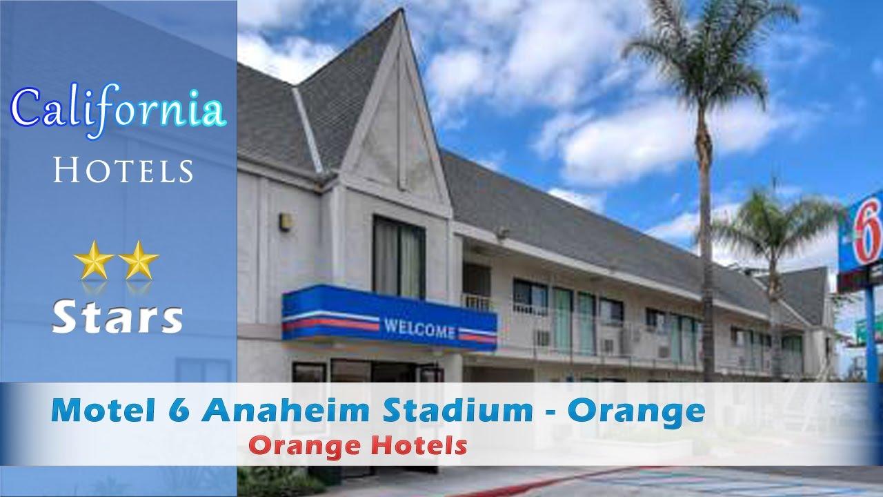 Motel 6 Anaheim Stadium - Orange, Orange Hotels - California