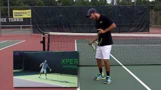 Tennis Training Tips - Resistance Band for More Accurate Forehands