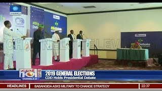 2019 General Elections: CDD Holds Presidential Debate