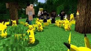 Minecraft пикачу