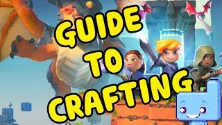 Portal Knights! GUIDE to basic CRAFTING!!
